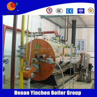 TRADE ASSURANCE!!! Small capacity exhaust fan low pressure gas / oil fuel steam boiler