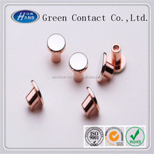 Silver Coated Bimetal Electric Contact