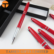 great quality popular ink filled pen Red Lacquer Ballpoint Pen wholesale OEM pen