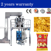 Automatic Chip Candy cookies snack food weighing Packing Machine with multihead weigher