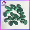 oval clover custom shape small green natural malachite crystals jewelry wholesale bags price