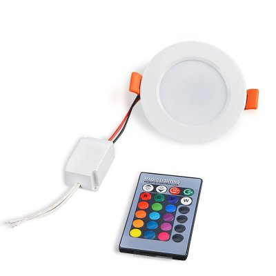 remote control Ceiling recessed 3W 5W 10W RGB colors changeable led <strong>downlight</strong> with memory