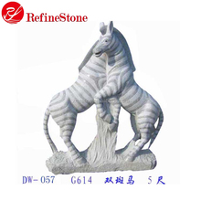 Stone Carving horse animal sculpture