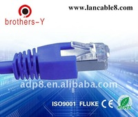 23AWG cat6 stranded rj45 jumper wire