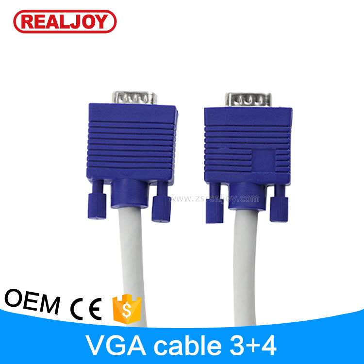 high quality 100 meters awm male 3 3 3 4 3 6 3 8 vga to cable vga