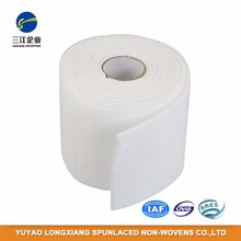 Tear-Resistant Polyester Nonwoven Cotton Pads Fabric Roll