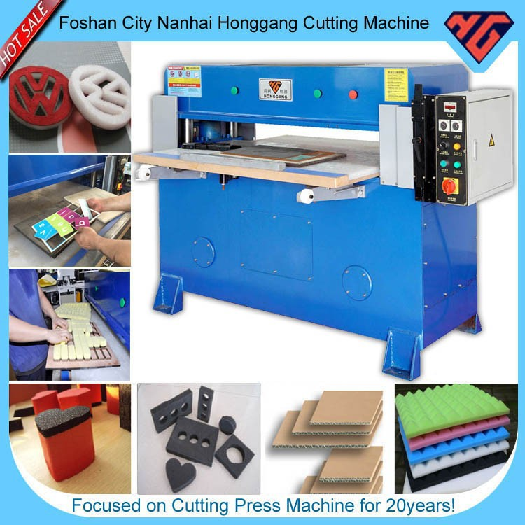 four-column manual hand cutting press machine