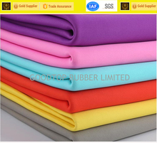 Color neoprene fabric wholesale good price factory customized