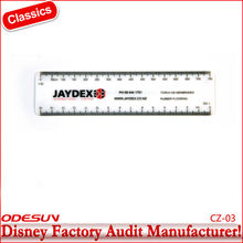 Disney factory audit manufacturer's that is made the plastic ruler 1149005