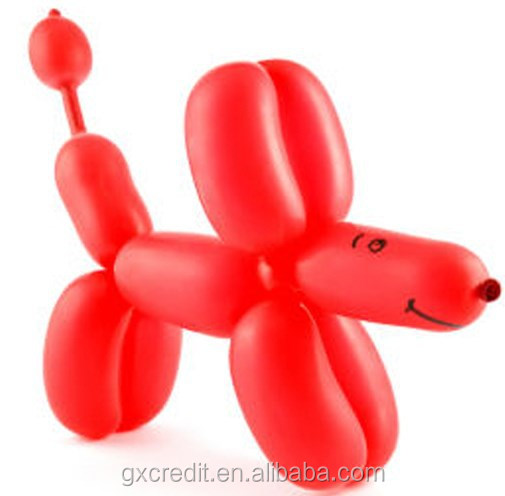 cartoon modelling latex balloons for kids