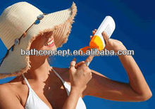Oil free sunscreen lotion OEM