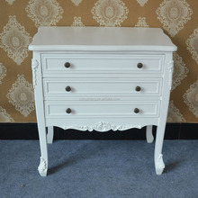 Simple and convenient design lacquer white cabinet for bedroom furniture