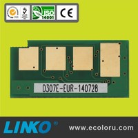 Version for EXP,EUR,DOM,CHN Multi-regional Chip MLT-D307Ecompatible Printer Chip for samsung ML5015 4510