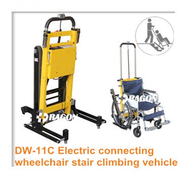 6 wheels high quality stair climbing hand truck