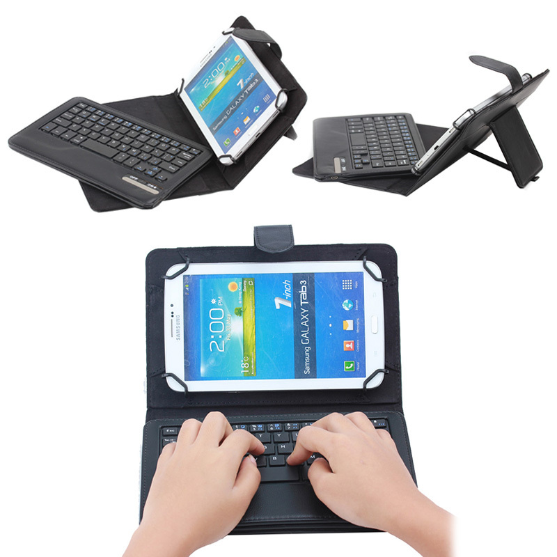 Universal removable keyboard case for 7' and 8',stand tablet case with keyboard