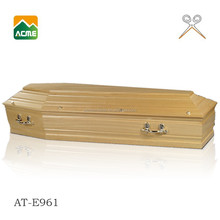 AT-E961 MDF solid venner coffin import