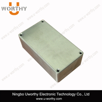 1590N1/125B Aluminium Pedal Enclosure Box