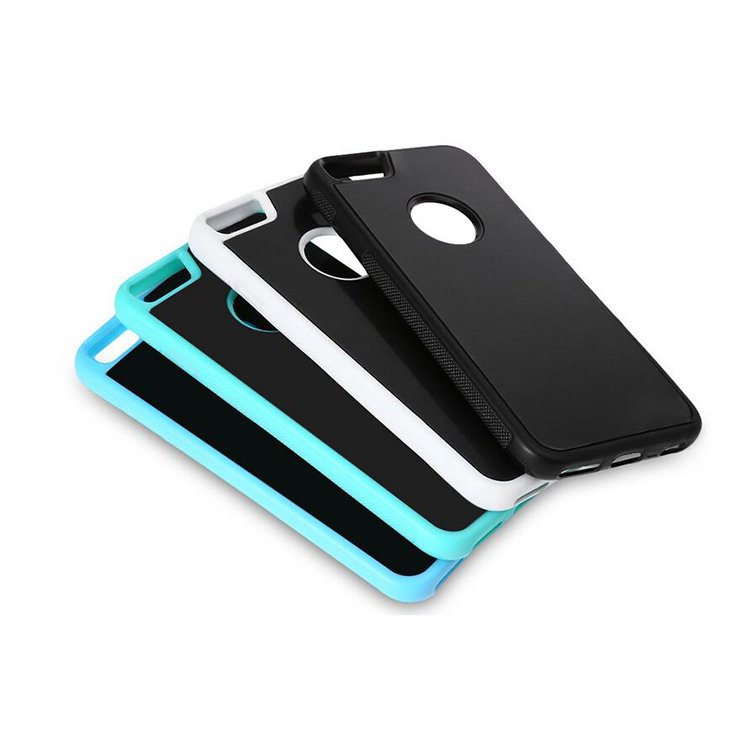 High Quality Anti Gravity Cell Phone Case TPU PC Back Cover Case for iphone6/ iphone 6plus