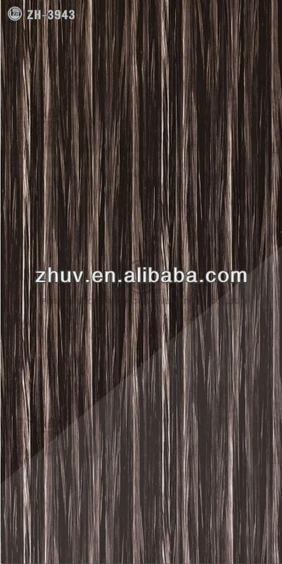 Glossy UV MDF timber