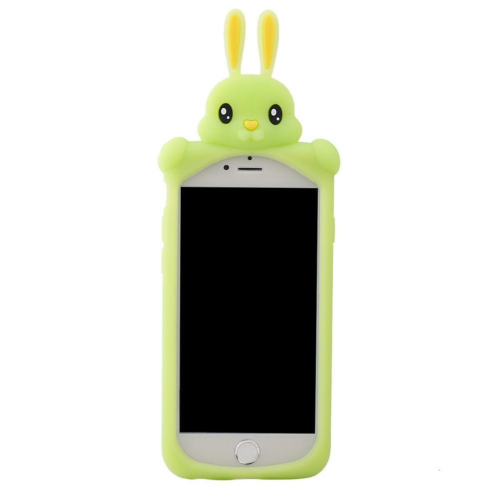 Rabbit Cell Phone Case for iphone 6,Waterproof Shockproof Silicon Case for iphone 6 plus