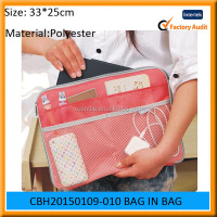 2015 hot selling New products nylon organza storage women bag for pad price