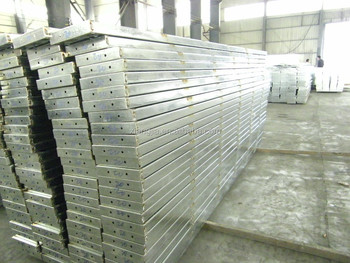 BS1139 hot galvanized metal steel plank board used for construction oil and gas project