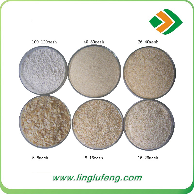 grade A dehydrated vegetable garlic granules with factory price