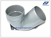 PVC single socket trap with port mould