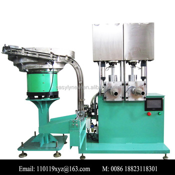 semi automatic glass glue hard tube filling machine packing machine