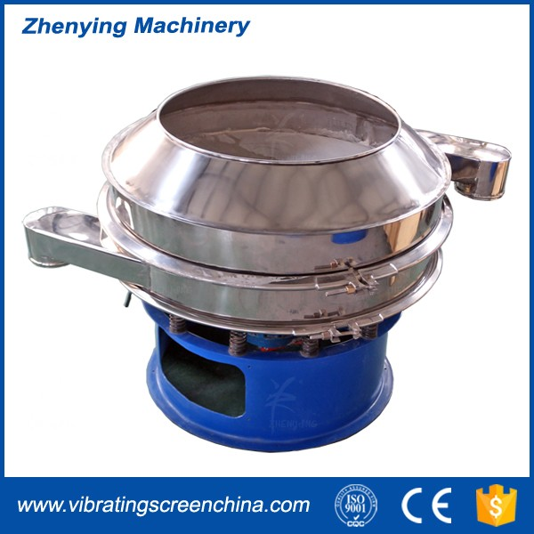 ZYJ sieve shaker remove ferrous material from fluids