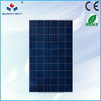 China made 250w solar wall panels 72 cell solar module laminator on sale TYP250