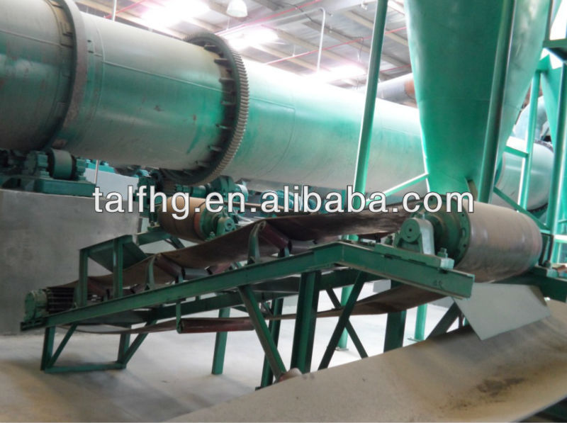 China made compound fertilizer pellets production line
