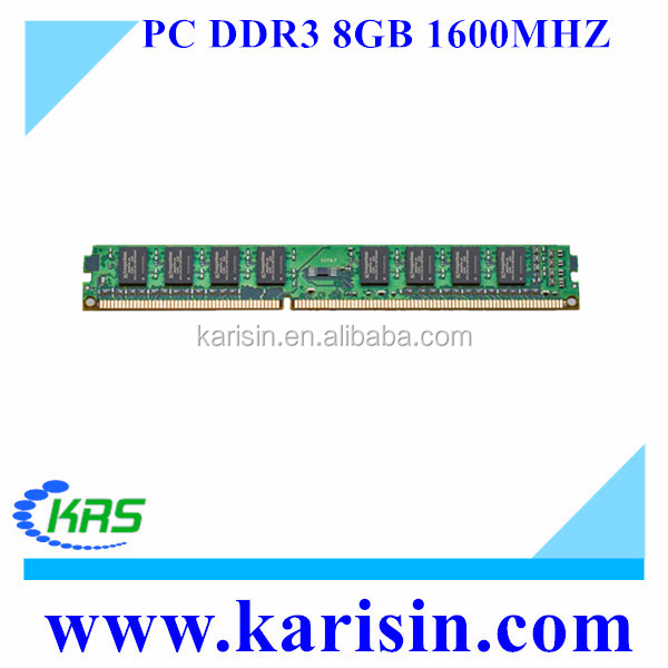 High quality support Intel and AMD motherboards memory RAM DDR3 8GB