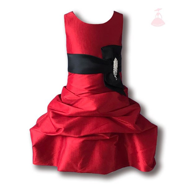 new arrivel baby children girl party western wear dress sample style