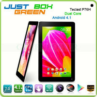 Top Brand Teclast P76H Tablet pc Android 4.1 Dual core 7 inch Capacitive Screen 512MB/8GB Webcam Slim Pad from Greenpower.