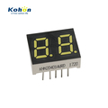 10.2 mm digit height white color 0.40 inch 2 digit mini led 7 segment display