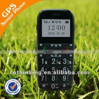 GPS elderly cell phone,FCC ID:X7ICTGS503B big button senior phone