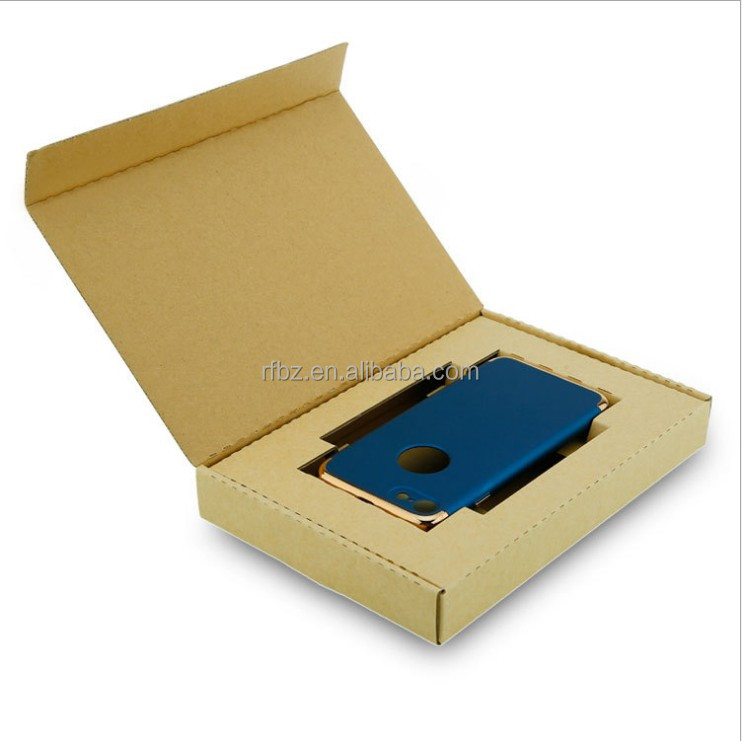 Hard quality Mobile Phone Case packing corrugated paper box