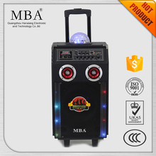 Powered usb mini disco light speaker
