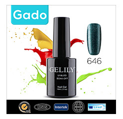 Gado Wholesale Gelily colorful 10ml nali polish glue