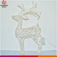 Garden decotaion motif light christmas Reindeer with light