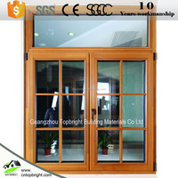 Aluminum Composite Wood Casement Windows / Aluminum Clad wood window,Aluminum Wood Window