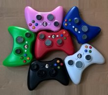 Wireless game controller for Xbox 360 six colors in stock