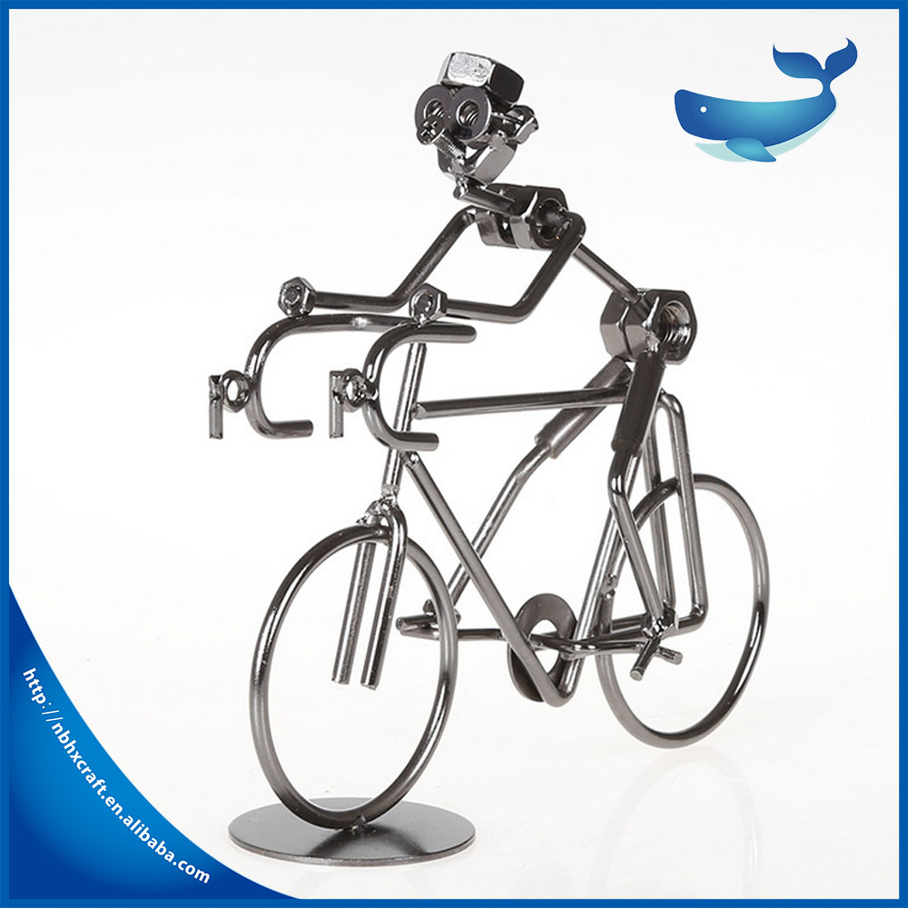 Metal Craft Decoration Iron Bicycle fashion design good quality