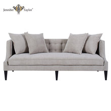 Home furniture brand supplier 3 seats lounge suite, living room seating set sofa, solid wood frame upholstery couch