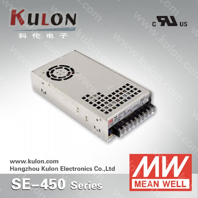 MEAN WELL SE-450-12 lighting supply company 450W led light driver