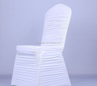 white spandex chair cover/white wedding chair cover