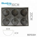 Silicone fiberglass baking ware egg tarts bread mould manufacturing