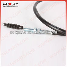 HAISSKY motorcycle parts factory price motorcycle parts brake cable for BAJAJ