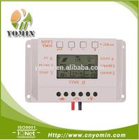 YM10 30A PWM solar charge controller LCD DisplayTemperature Compensate PWM Solar Panel Charge Controller